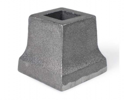 Cast Iron Slip On Shoe, Square Base