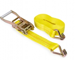 Tie Down Straps also called Ratchet Straps, Lashing Straps or Tie Downs.