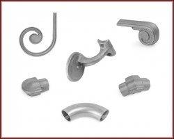 Handrail and Stairway components.