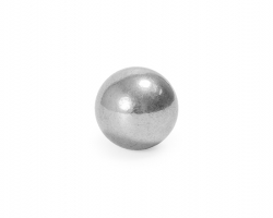 Solid Seamless Shiny Spheres made out of Forged Steel.