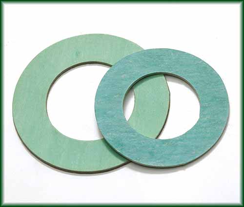 Two different Ring Gaskets made with non-asbestos material.