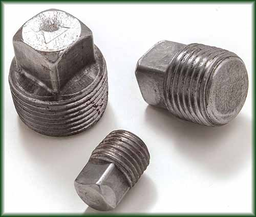 Pipe fittings plugs steel supply l p