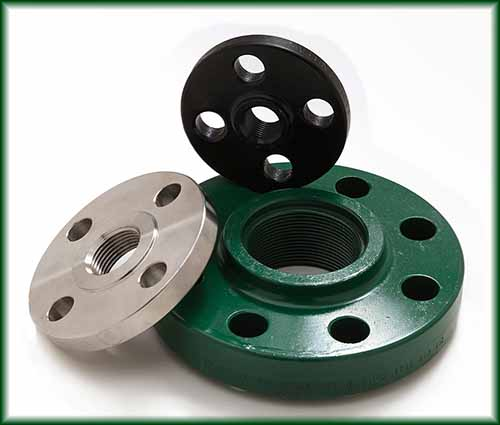 Three different Threaded Flanges.