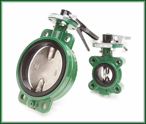 Two butterfly Valves in Lug and Wafer types.