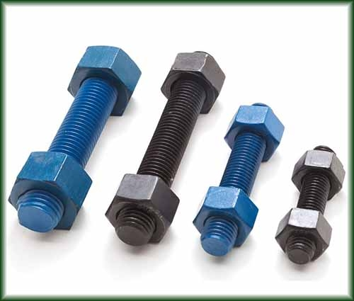 Four different sizes of Stud Bolts.