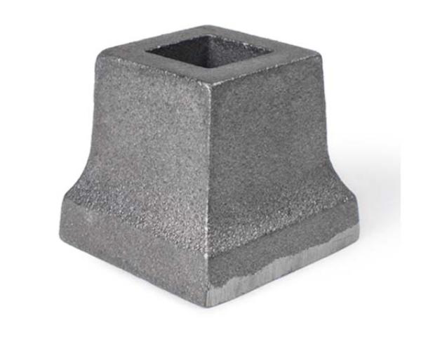 Cast Iron Slip On Shoe, Square Base