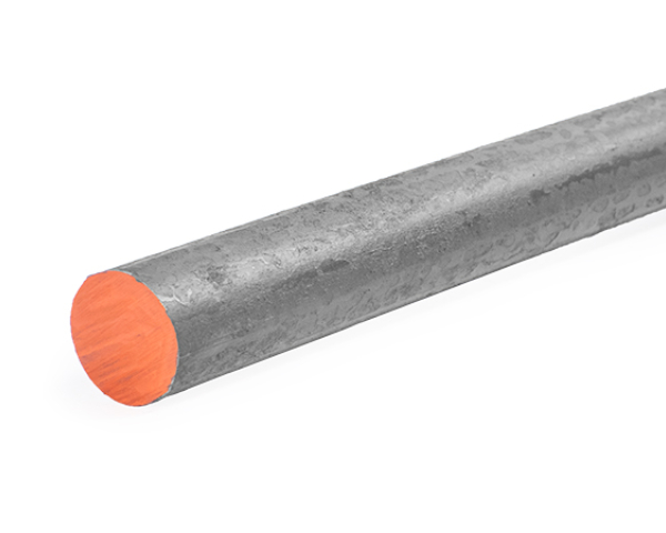 2 inch hot rolled steel round bar that is 20 feet long