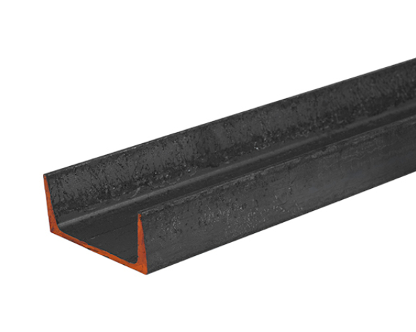 4 in wide steel channel at 6.25 lbs per foot and 20 feet long