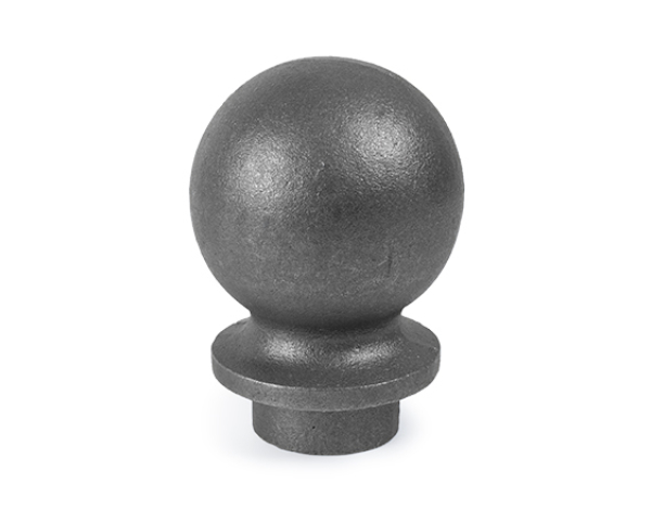 A Cap used for the opening in your fence posts and pickets made of Cast Iron or Steel.