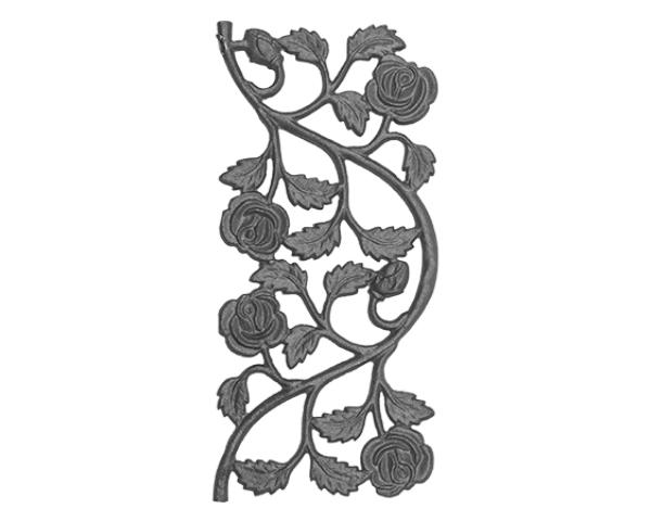 Cast Iron Rose Railing Casting