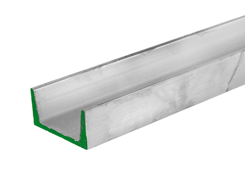 Aluminum Channel 4 inch by 1 72 inch