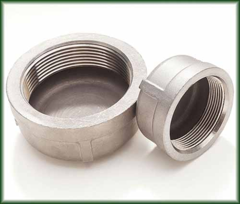 Cast Stainless Threaded Caps