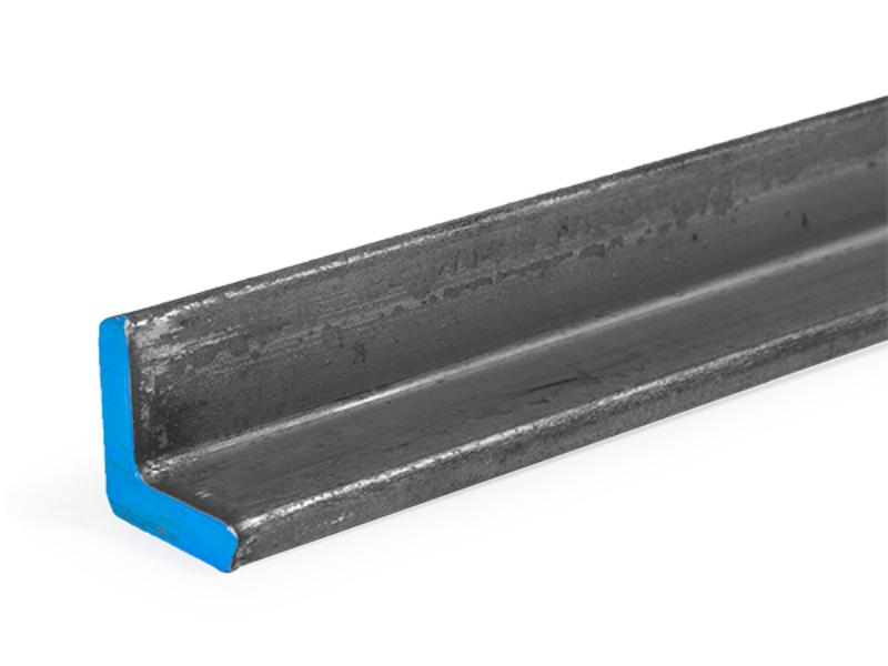 Cut Steel Angle 250 x 1 00 x 1 00 inch