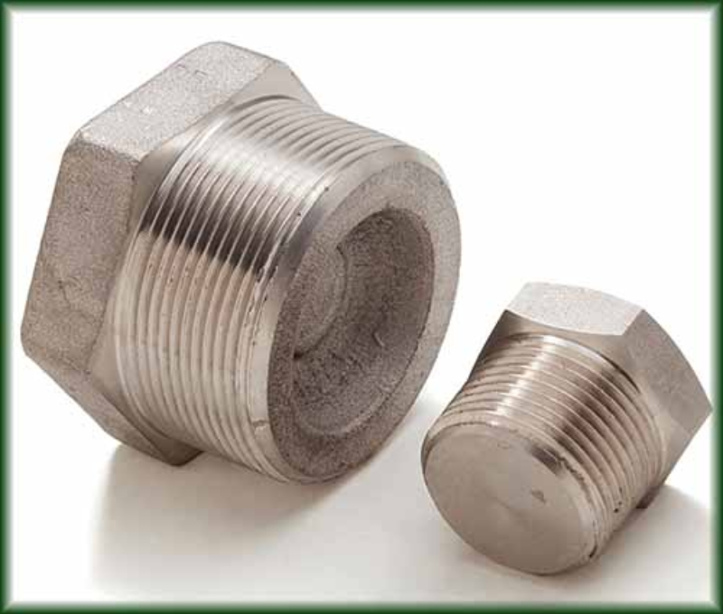 Forged Stainless Plugs