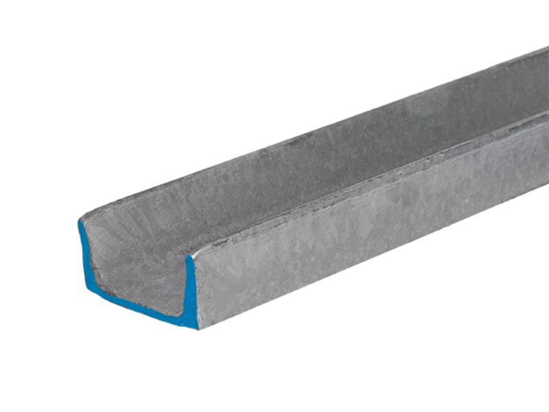 Galvanized Channel 3 inch by 4 10 pounds per foot