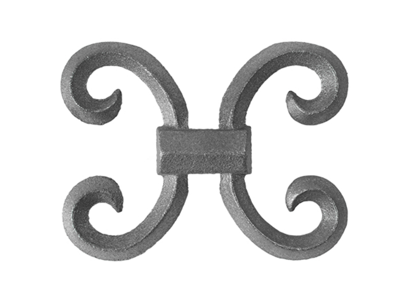 Cast iron picket casting 5 25 inch