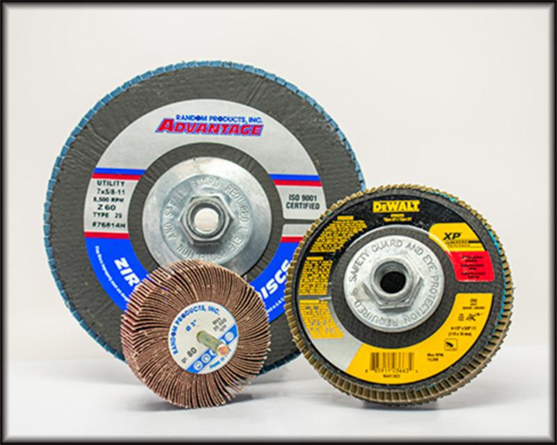 Flap discs wheels w border