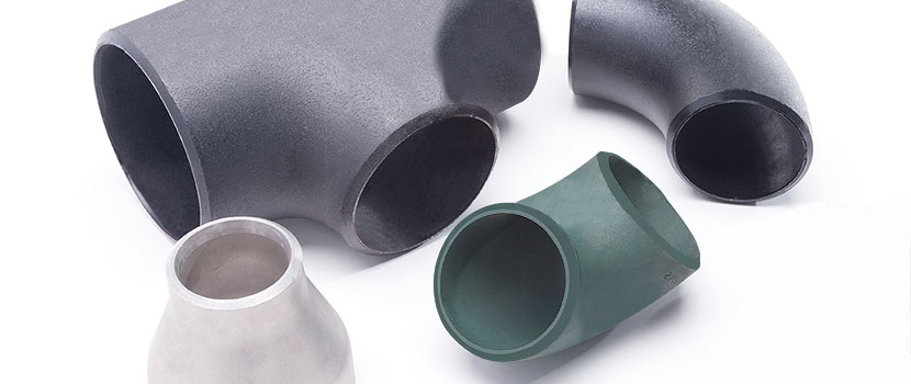 Four different Carbon Steel Weld Fittings.