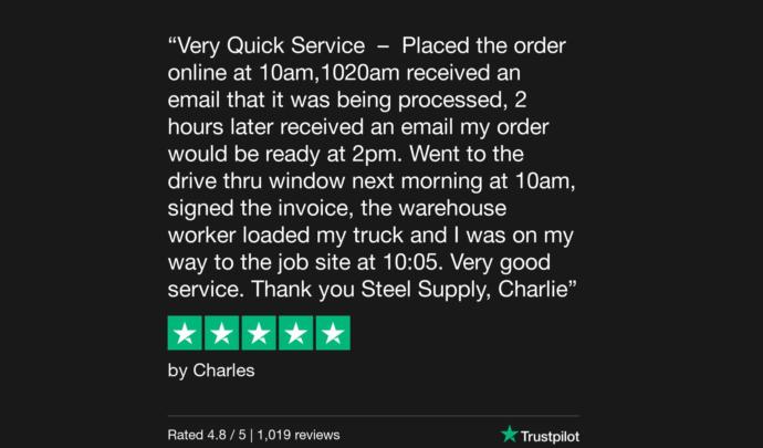 Trustpilot Review Charles Slavin 1