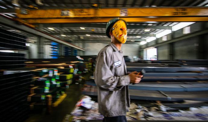 Jason in warehouse