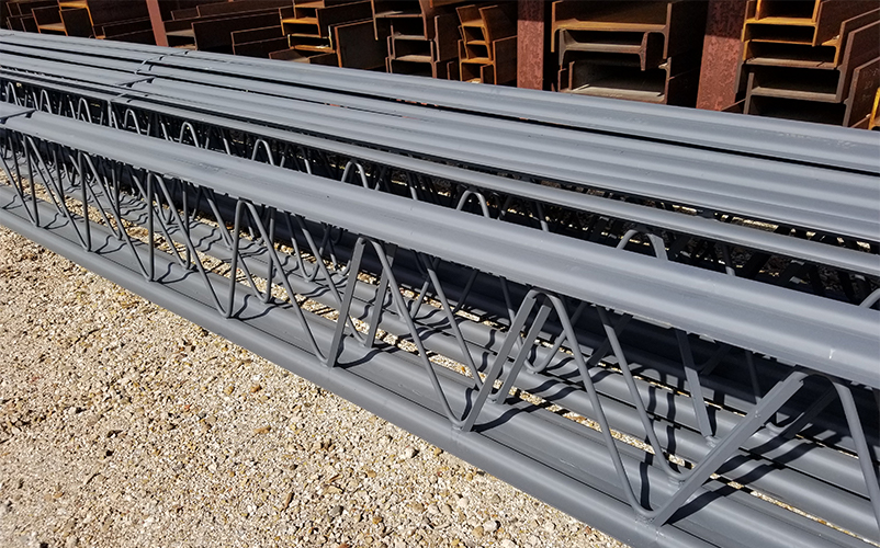 Manufactured Steel Joists.
