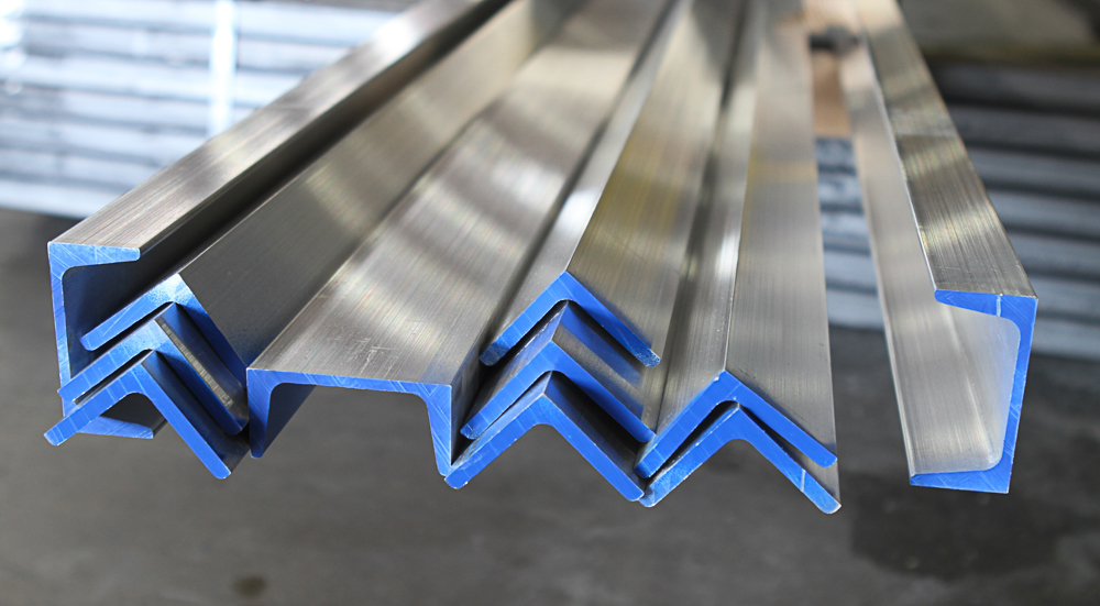 Structural aluminum angle