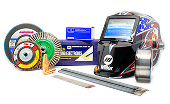 Welding supplies category image