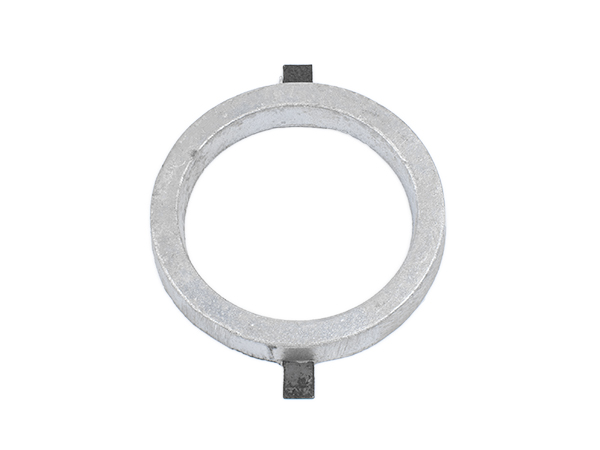 Aluminum circle 4 inches with tabs