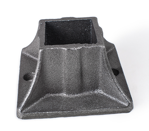 Cast iron heavy shoe, 2 holes 1.5 inch