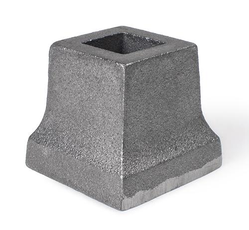Cast iron slip-on shoe, 0.75 inch