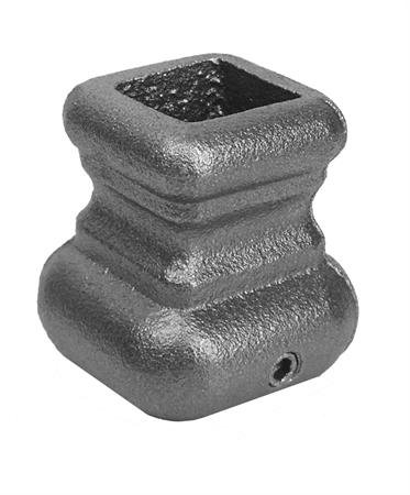 Cast iron square base, .5625 inch