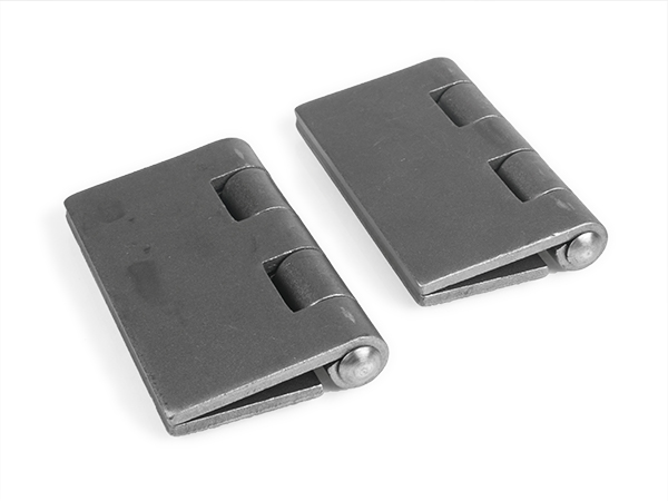 Heavy-duty weld hinge, 4-inch pair