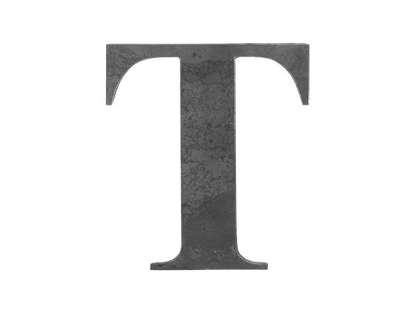 Steel Letter T