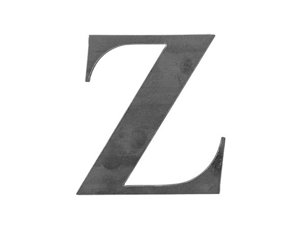 Steel Letter Z