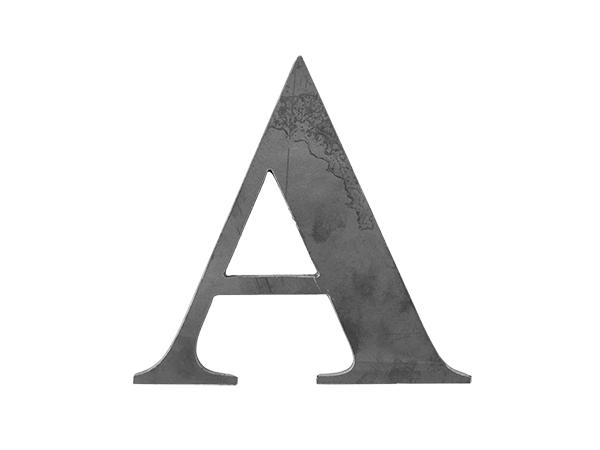 Steel Letter A