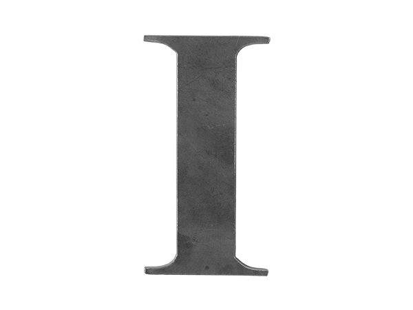 Steel Letter I