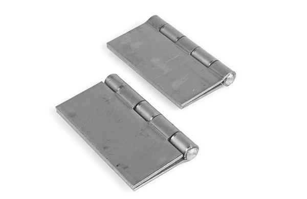 Weld hinge, 2x2 inch pair