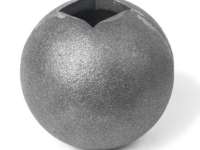 Cast iron large ball square collar, 1 inch