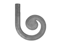 Malleable iron lateral