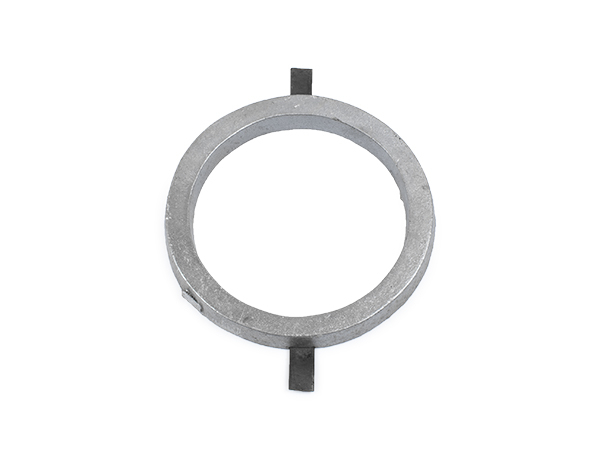 Aluminum circle 4.5 inches with tabs.