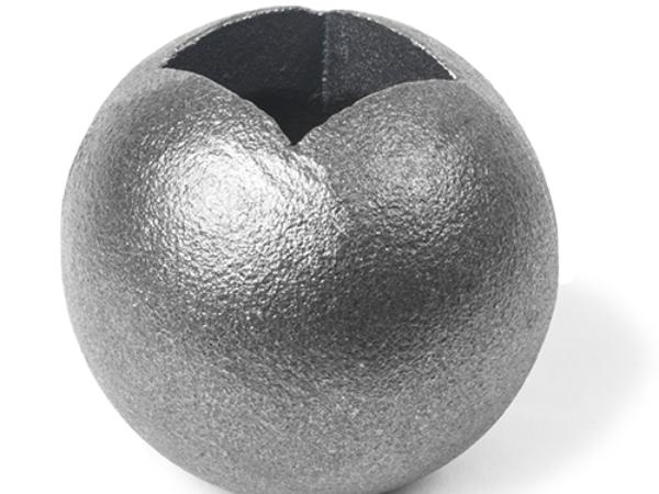 Cast iron ball square collar, 1 inch