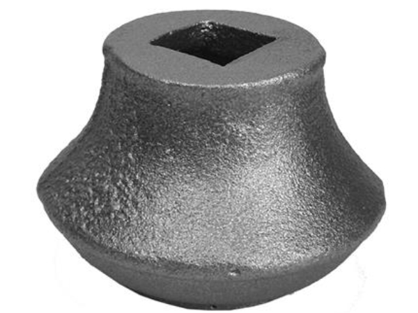Cast iron old style collar, 0.625 inch