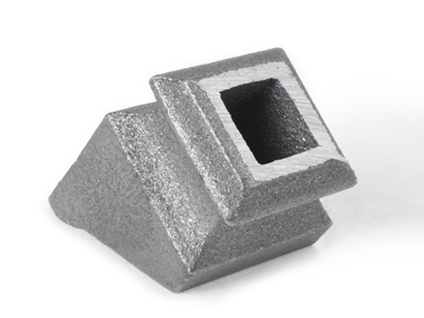 Cast iron pitch square shoe, 0.5 inch