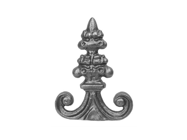 Cast iron solid, 5.5 x 4 inch