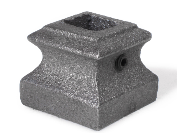 Cast iron square shoe, 0.5 inch
