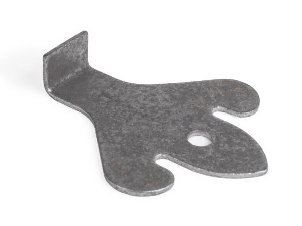 Ghost shaped 90-degree weld tab
