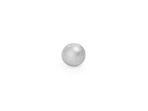 Hollow steel sphere