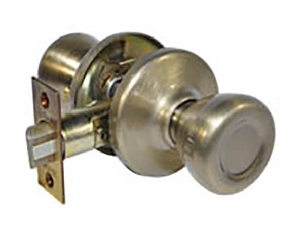 Kwikset Antique Brass Round Passage Knob