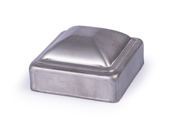 Pressed steel cap, 2.5 inch