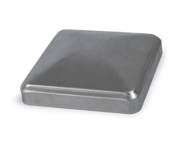 Pressed steel cap, 5 inch